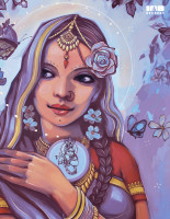 Болгарский художник Насимо создал обложку нового трека артистки Padmarani