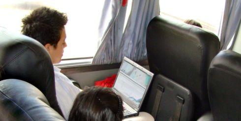 В Минске маршрутки подключат к Интернет