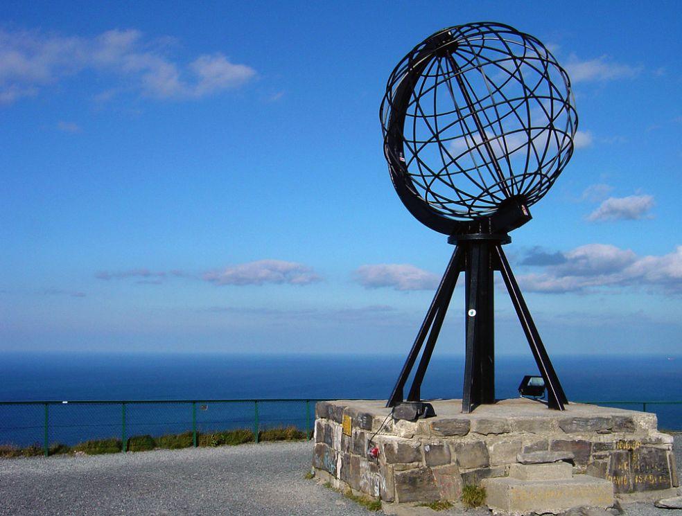 Северный Мыс в Норвегии