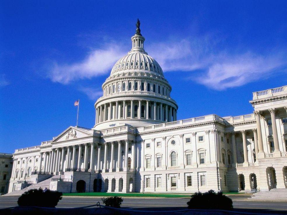 Капитолийский холм в Вашингтоне, округ Колумбия