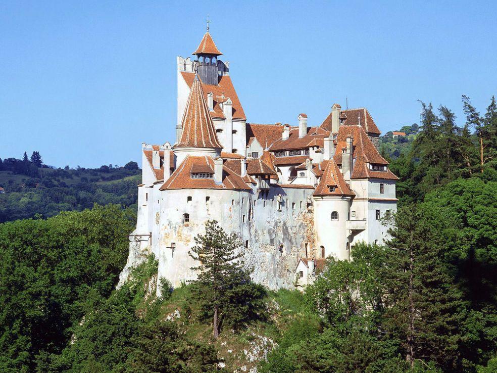 Замок Дракулы (Бран) в Румынии