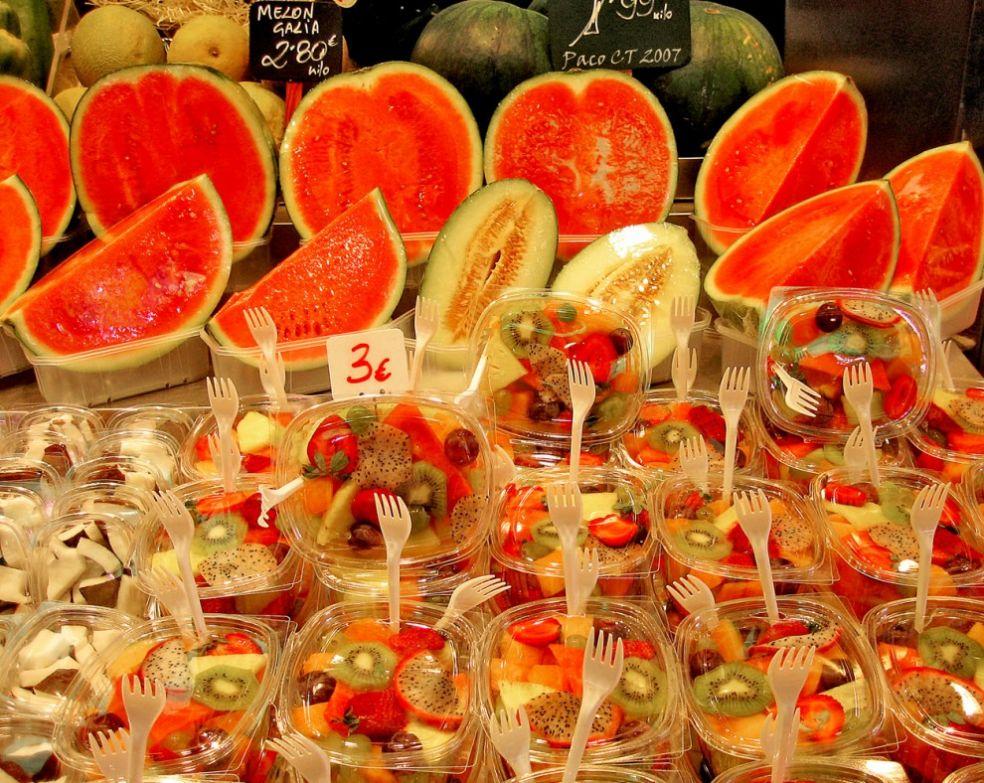Испанский фруктовый салат