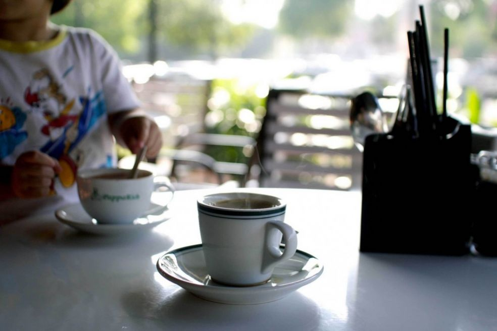 Чашечка кофе с утра