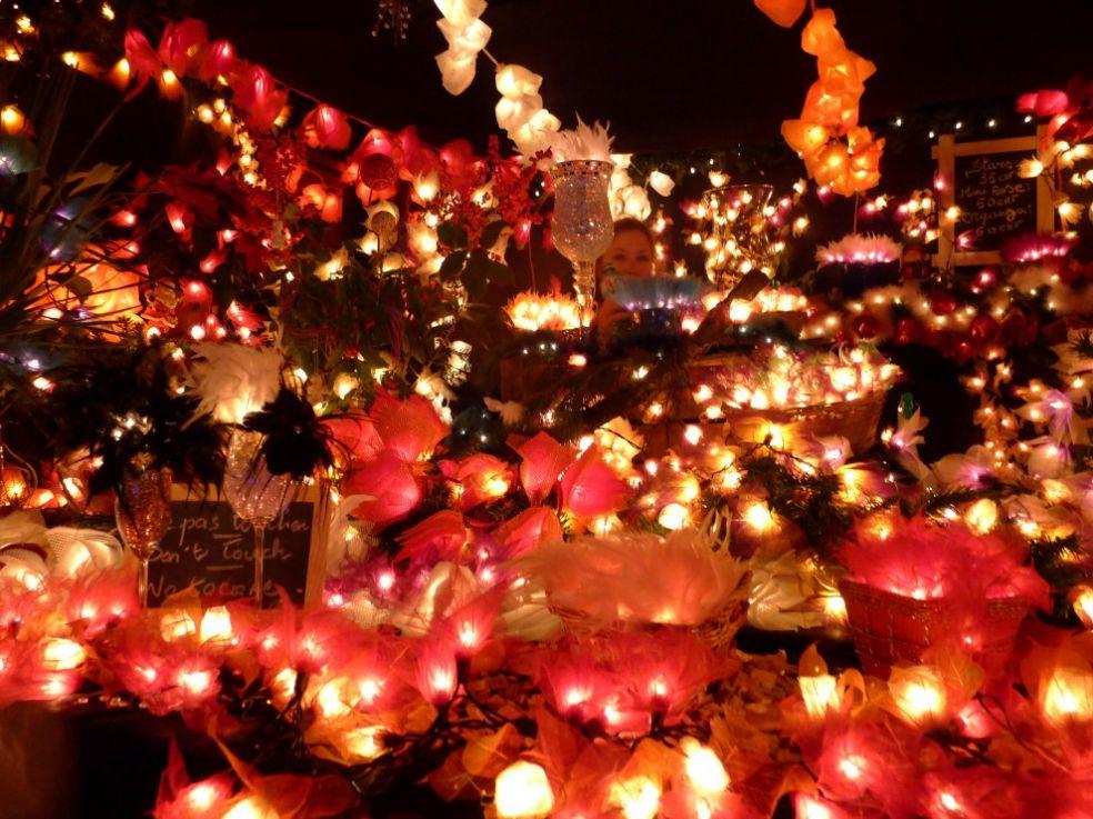 Свечи в Монтре