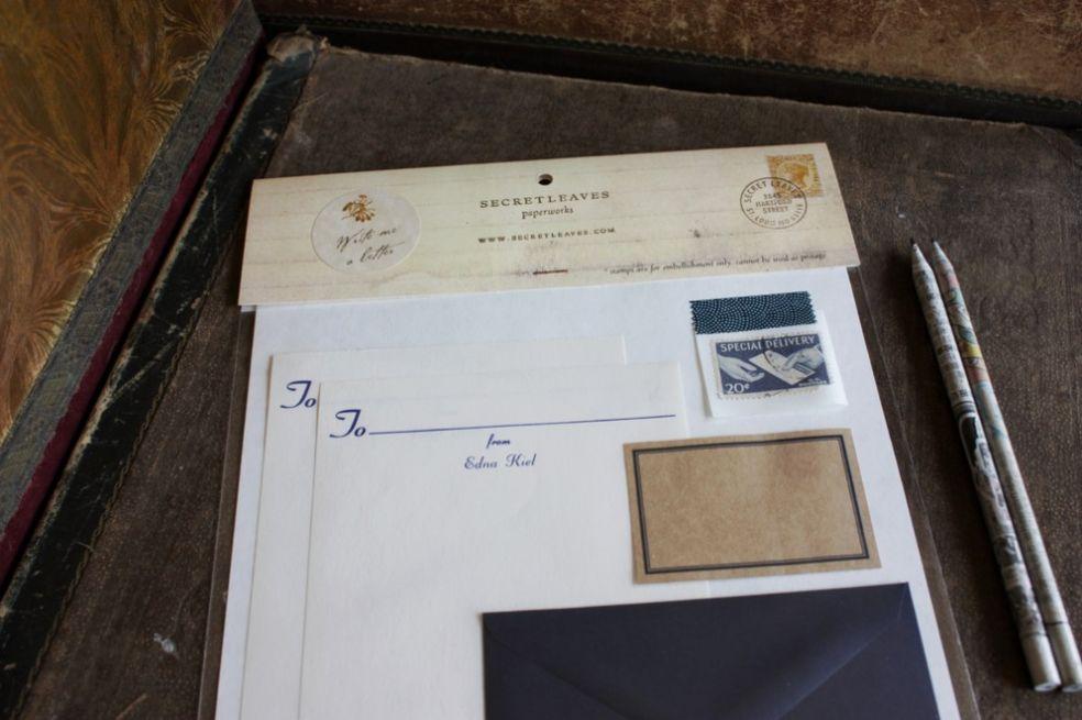 Винтажный  набор для письма