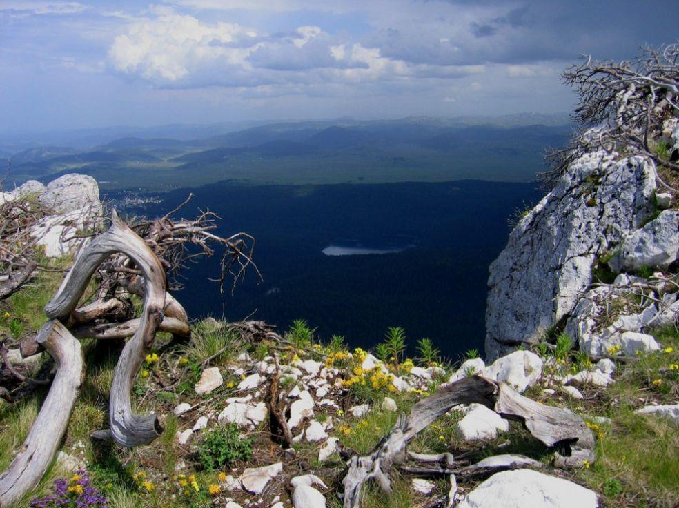 На вершине горы Дурмитор