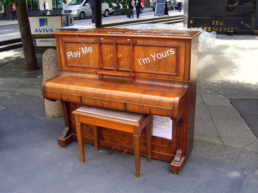 Фортепиано в Лондоне