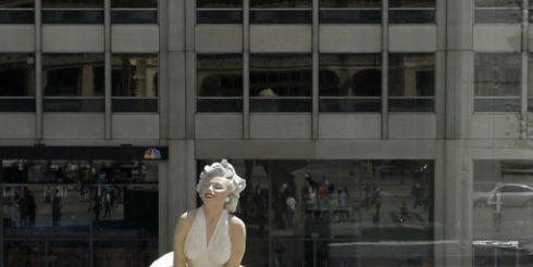 Мерилин Монро украсила Чикаго