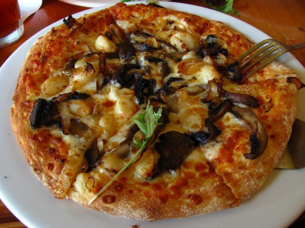 Вегетарианская пицца в США, округ Колумбия