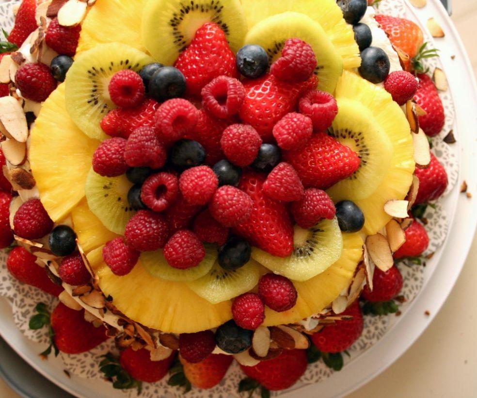 Витаминный торт
