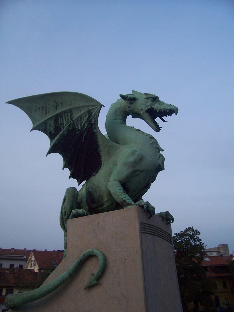 Драконов мост в Любляне