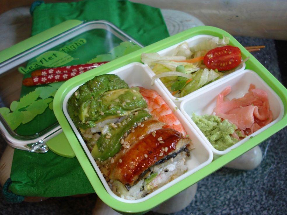 Бэнто с суши