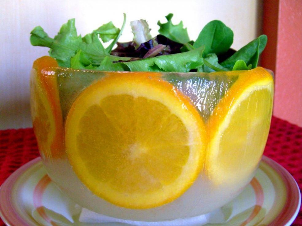 Салат из свежих овощей на завтрак