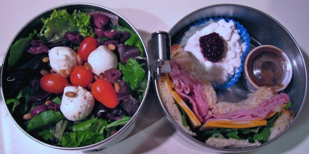 Салат в арбузе