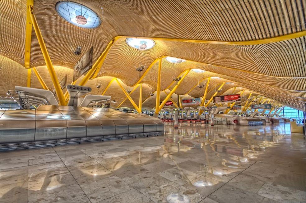 Терминал Т4 аэропорта Барахас, Мадрид