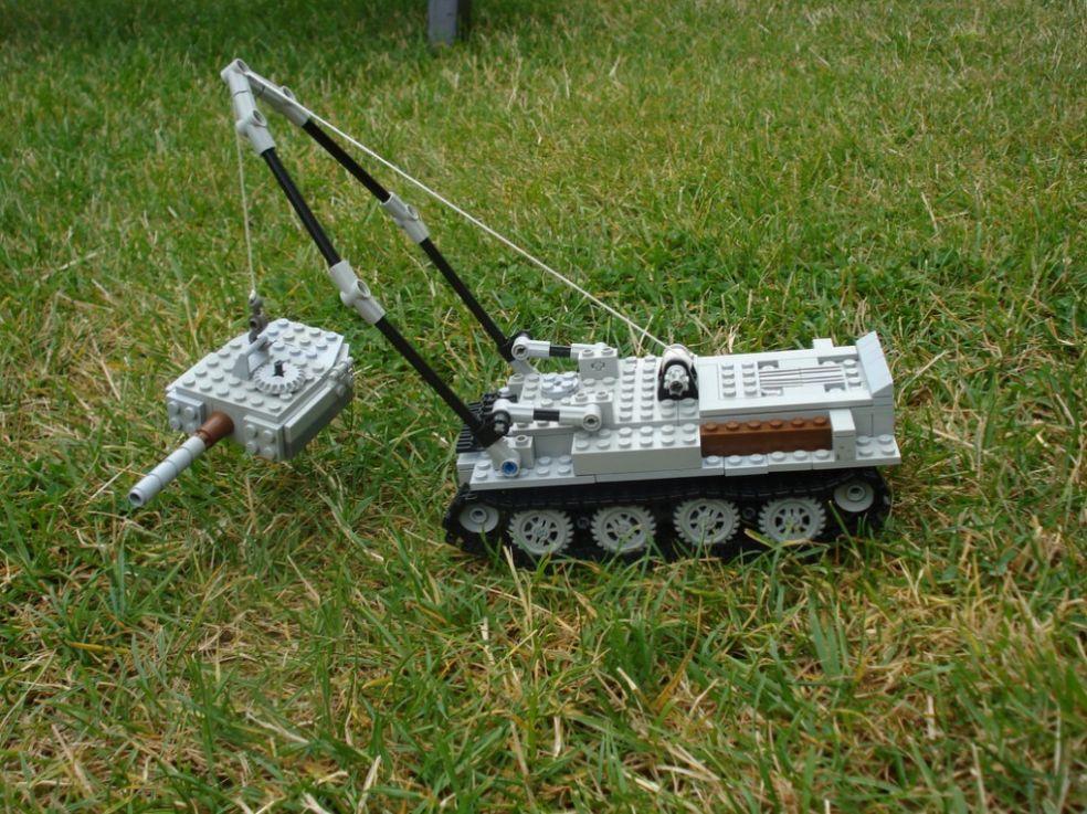 Лего-танк