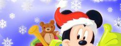 Что общего у Деда Мороза и… Микки Мауса?