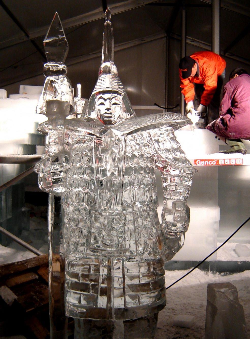 Фестиваль ледяных фигур в Харбине