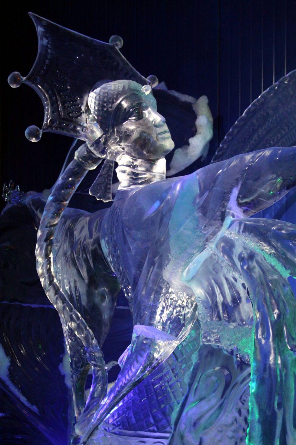 Черномор и 33 богатыря, фестиваль ледяных фигур в Москве