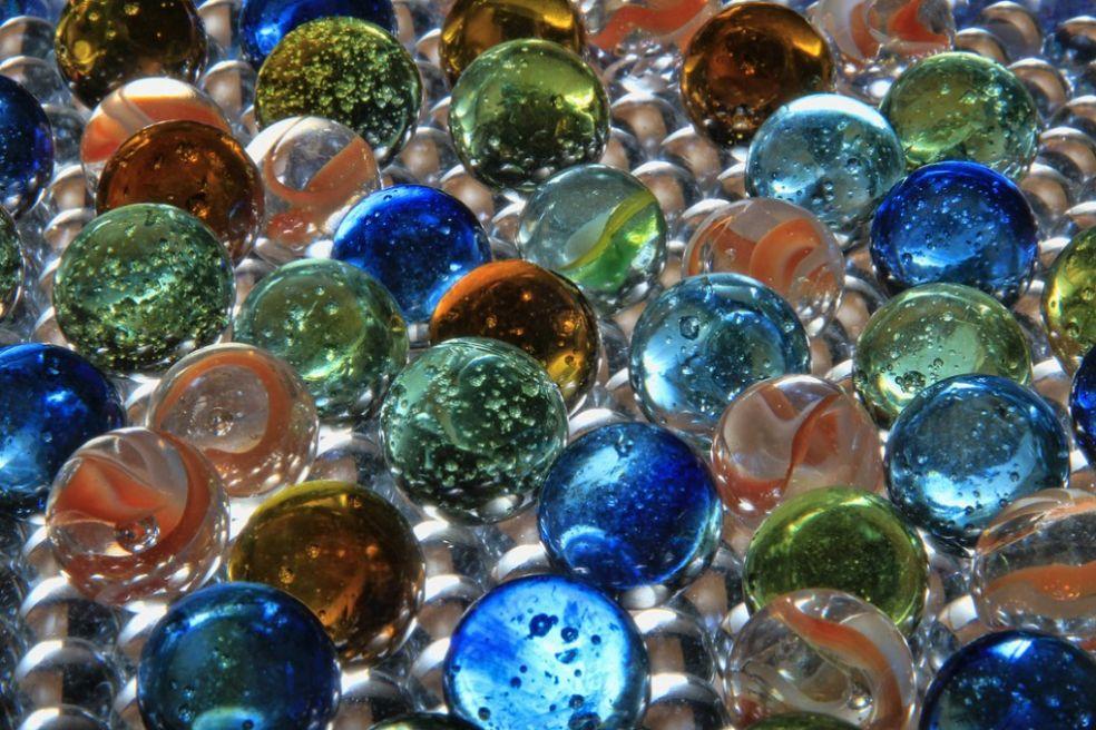 Марблс с воздушными пузырьками
