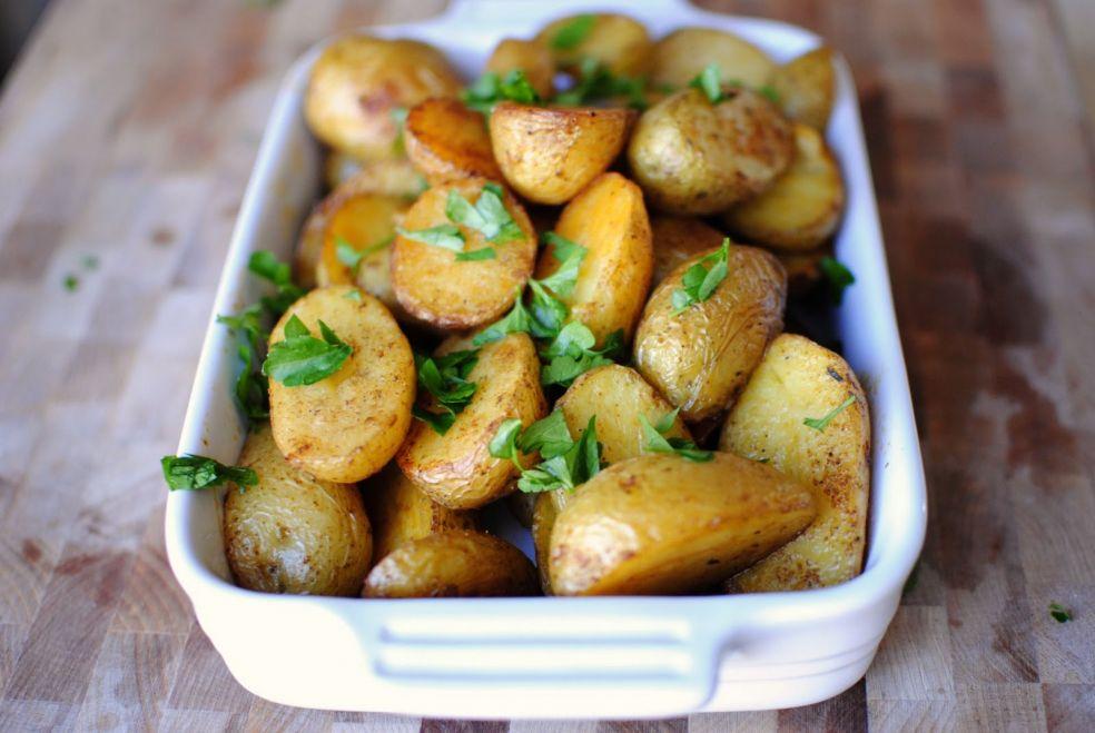 Как сделать картошку в специях