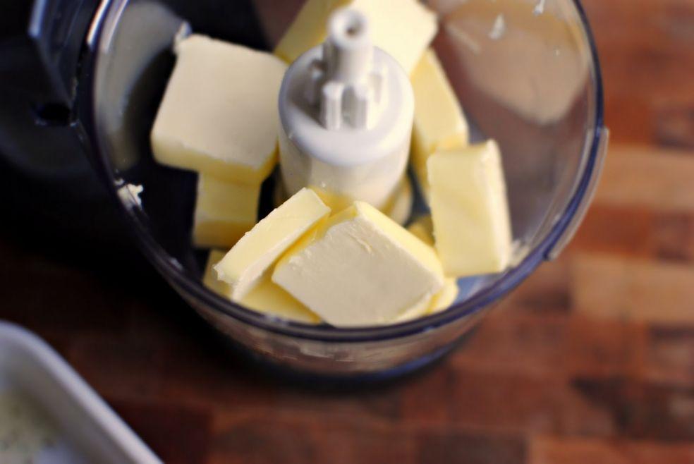 Чесночное масло фото-рецепт