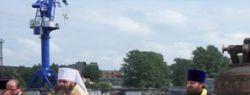 «Совфрахт» доставил в Нижний Новгород третий по величине «звонящий» колокол в России