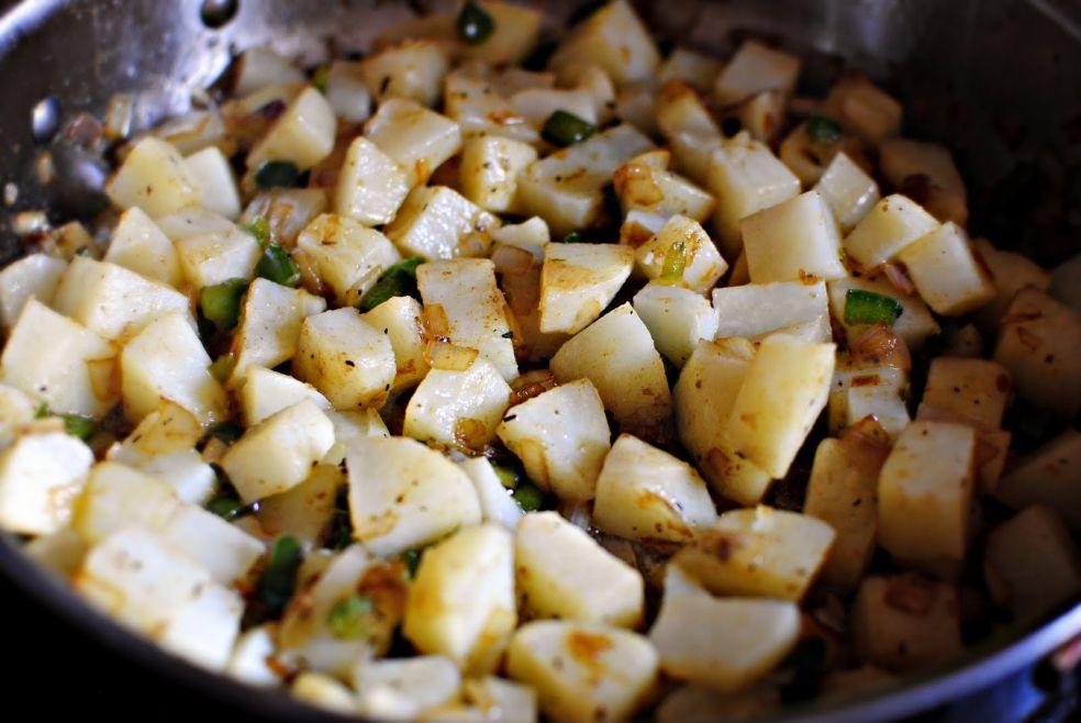 Картофельная крошка фото-рецепт