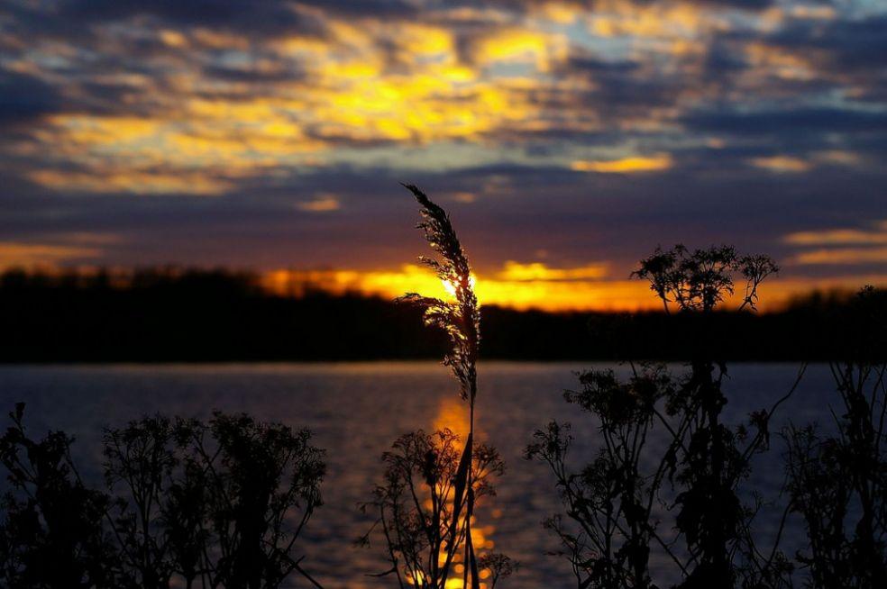 Закат в Лелистаде, Нидерланды