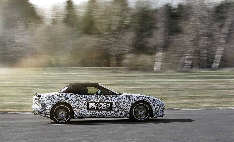 Jaguar F-Type будет представлен публике 27 сентября в Париже