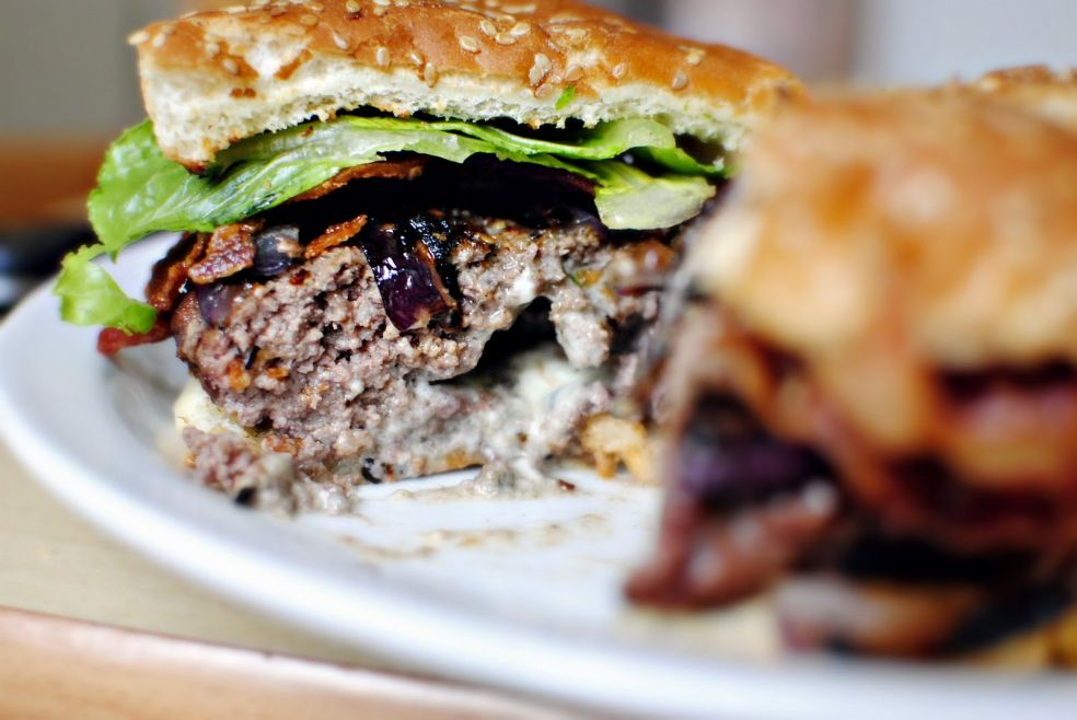 Домашний бургер фото-рецепт