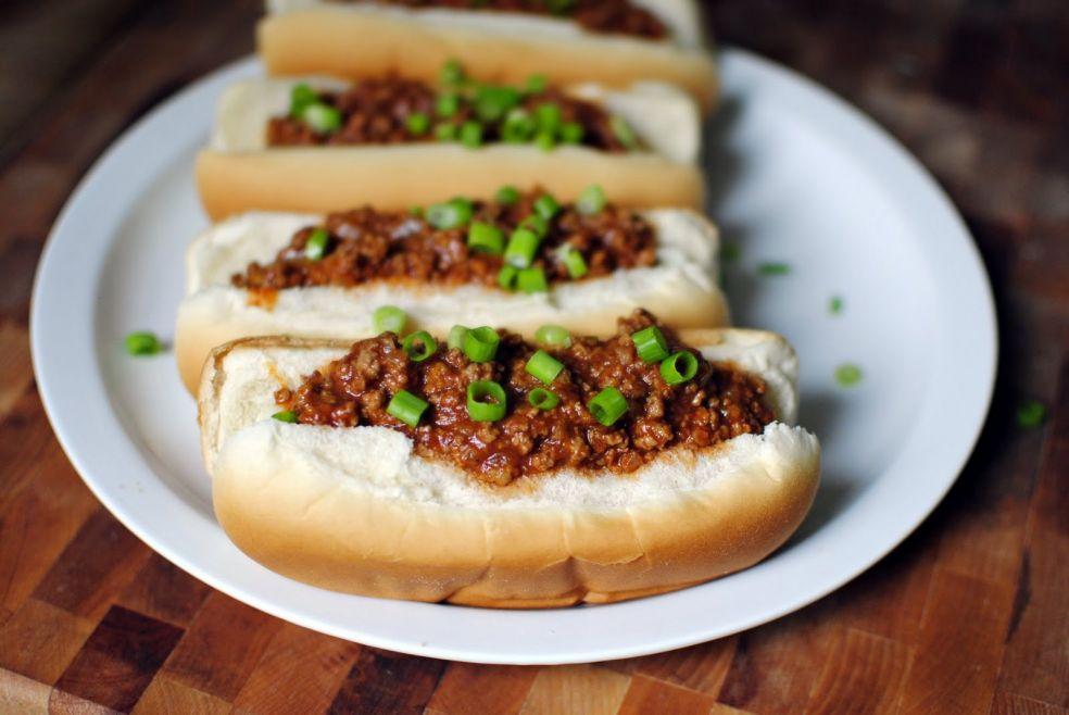 Сытный ланч с хот-догами без сосисок фото-рецепт