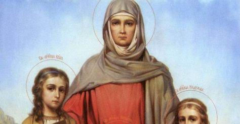 Православные отмечают праздник Веры, Надежды, Любови и Софии