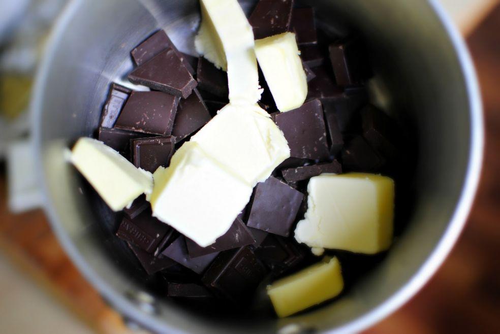 Шоколадное печенье с мятой фото-рецепт