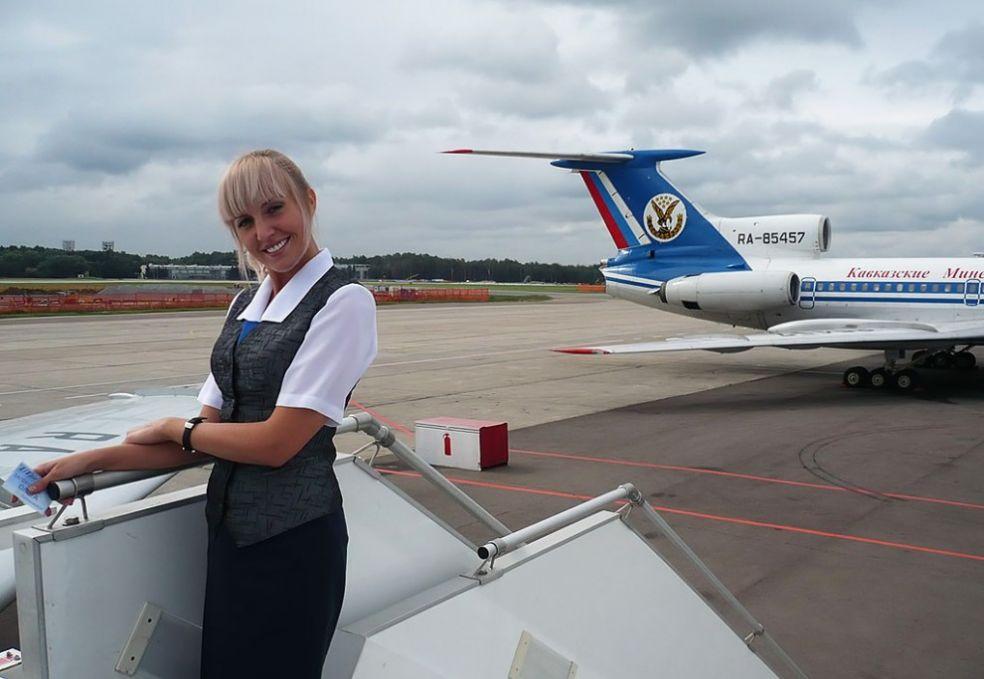 Российская стюардесса