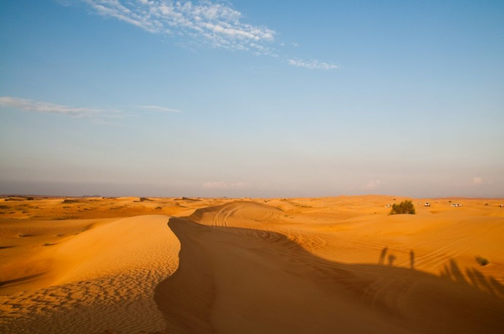 Пустыня Дубаи