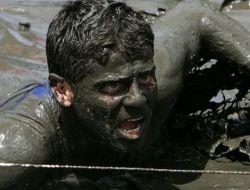 Бег в грязи