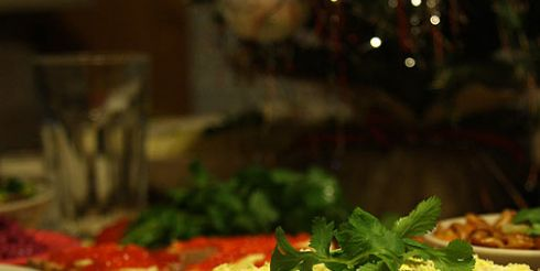 Новогодний стол, отказываемся от деликатесов?