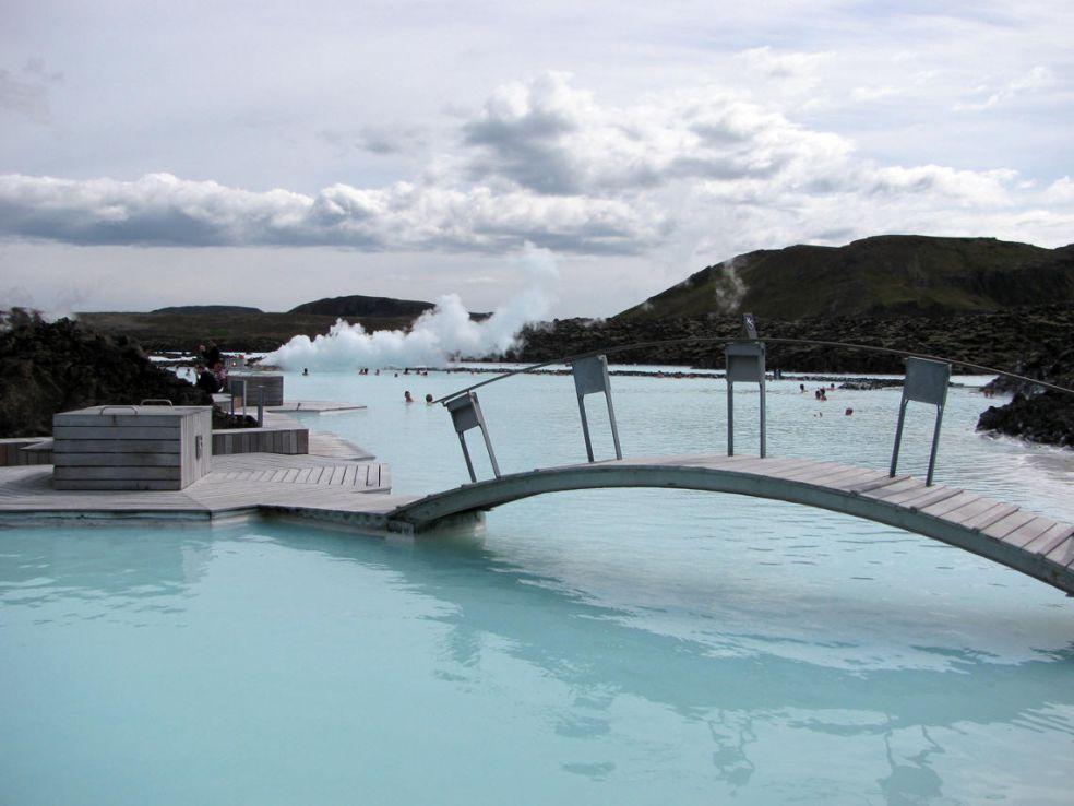 9. Курорт Голубая Лагуна в Гриндавике, Исландия