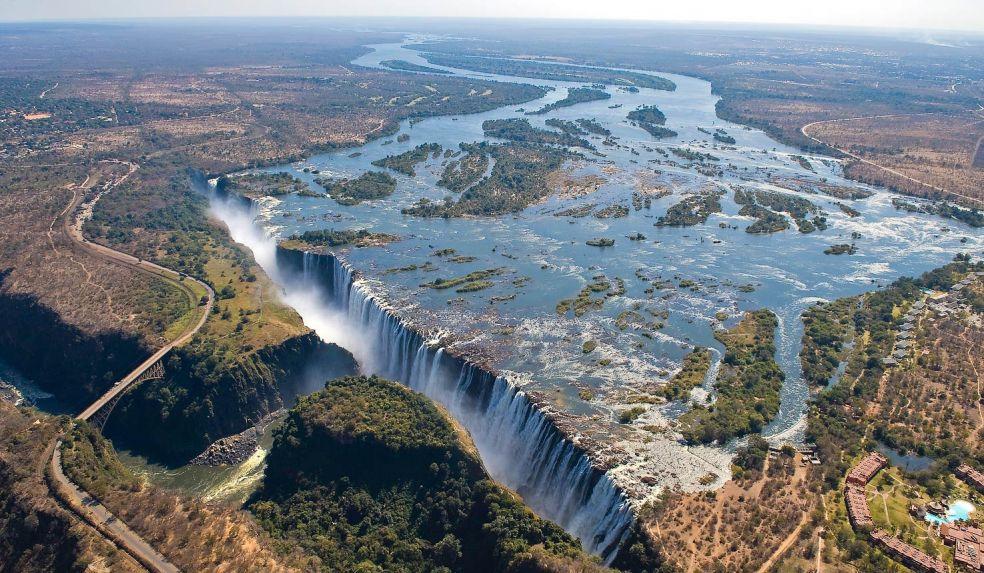 10. Бассейн Дьявола, водопад Виктория, Замбия