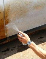 Удаление битумных пятен с кузова автомобиля